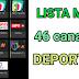 LISTA M3U 46 CANALES DE DEPORTES