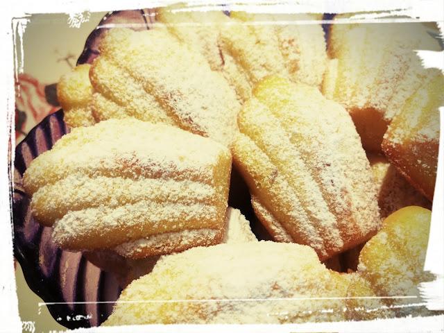 magdalenki ciastka babeczki muszelki cytrynowe biszkopty