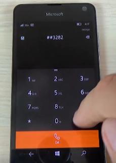 Code secret Microsoft Lumia 650 windows 10 code test