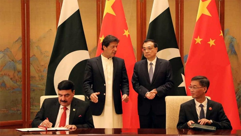 Pak China ink railway project