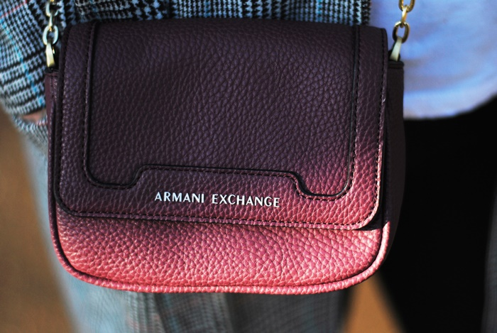 armani exchange bag