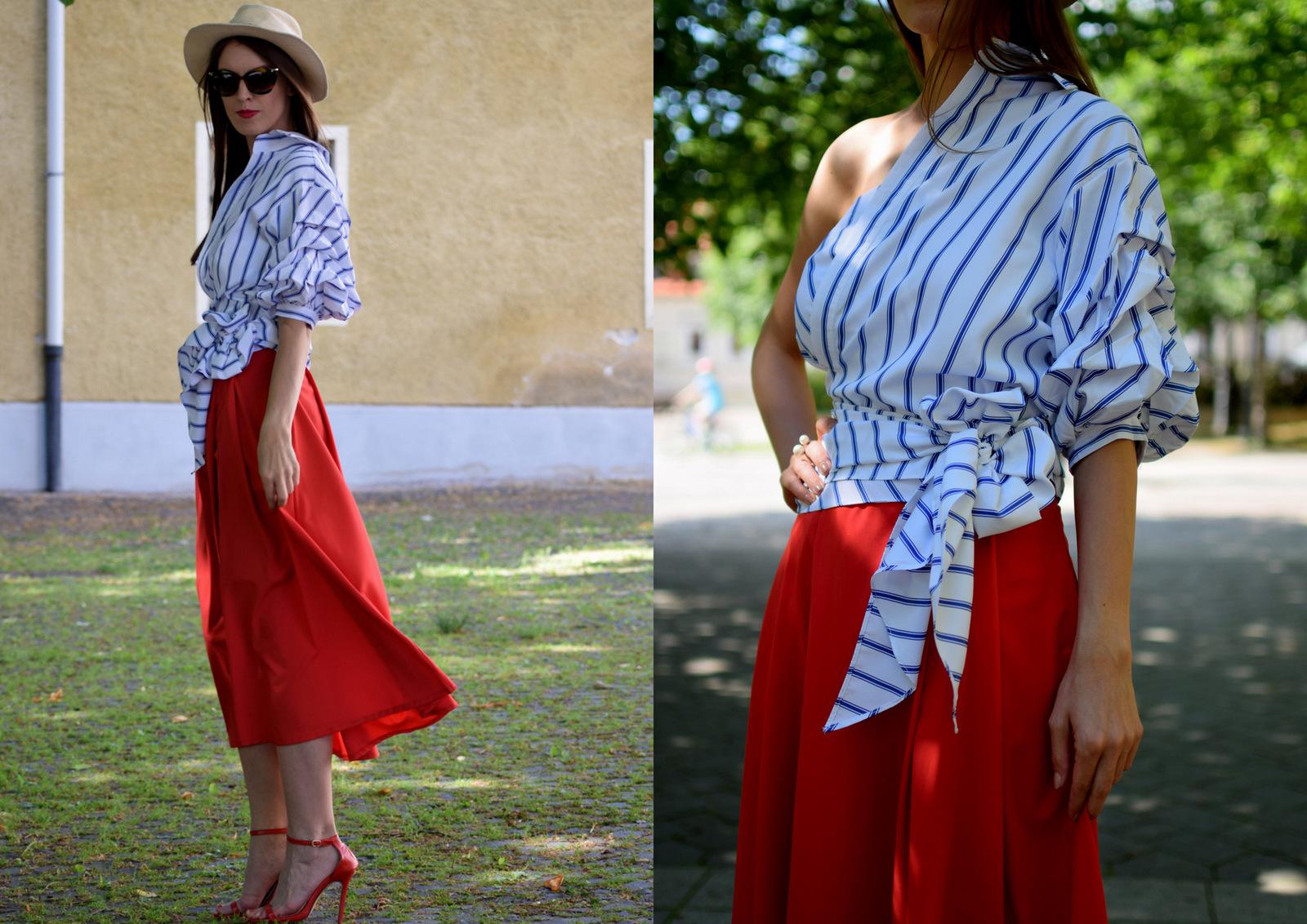 8 dôvodov, prečo asymetrická trendy košeľa vyzerá dobre iba na modelke // asymetrical wrap shirt