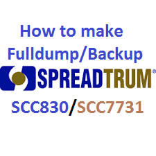 Spreadtrum backup and fulldump