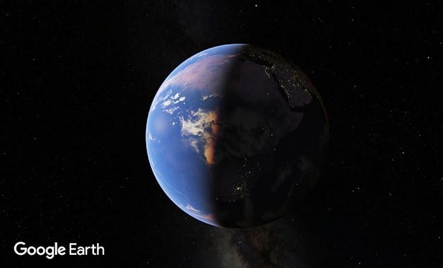 Lima Besar Pencarian di Google Earth, Google Maps