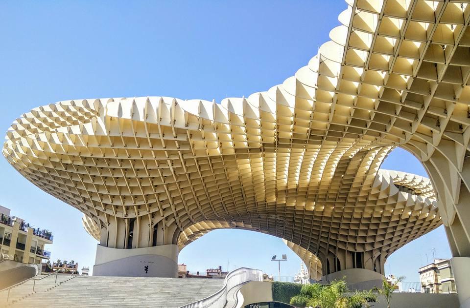 Espange Séville Sevilla Andalousie Metropol Parasol