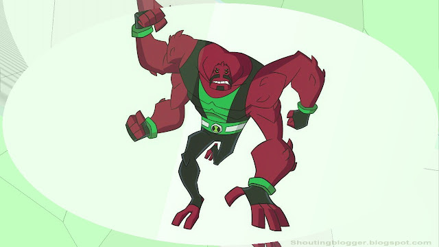 Ben 10 Omniverse Alien : Fourarms