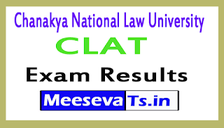 Chanakya National Law University CLAT Exam Results 2017