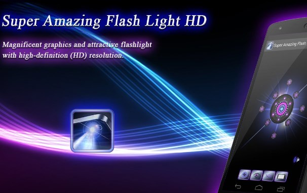 Super Amazing FlashLight Pro Free Download on Android App