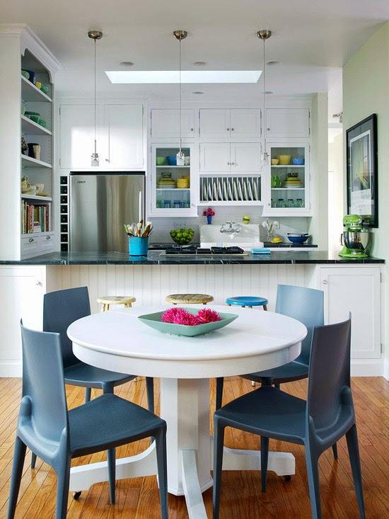 Pisahkan Area Dapur Dan Ruang Makan Namun Tetap Terkesan Menyatu