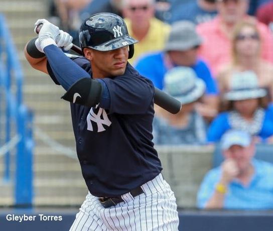 Prospecto de Yankees Gleyber Torres se recupera para jugar con Leones ..