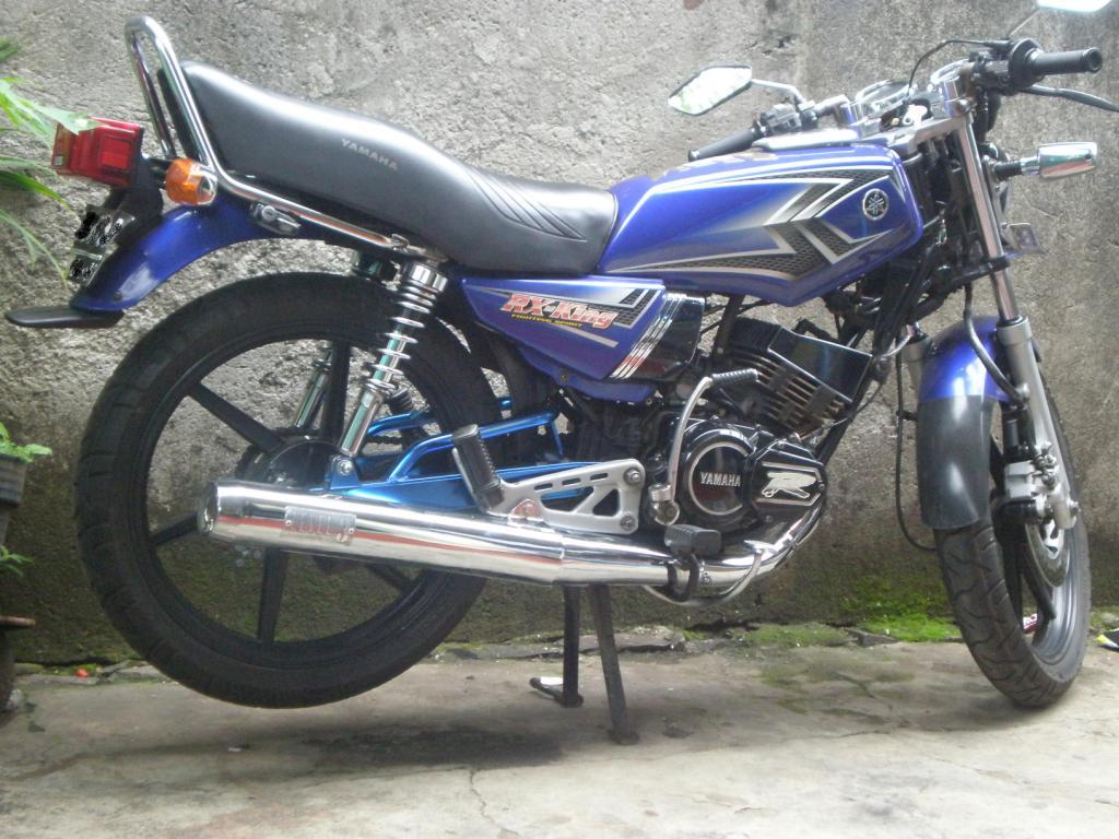 gambar modifikasi rx king silver  modifretro
