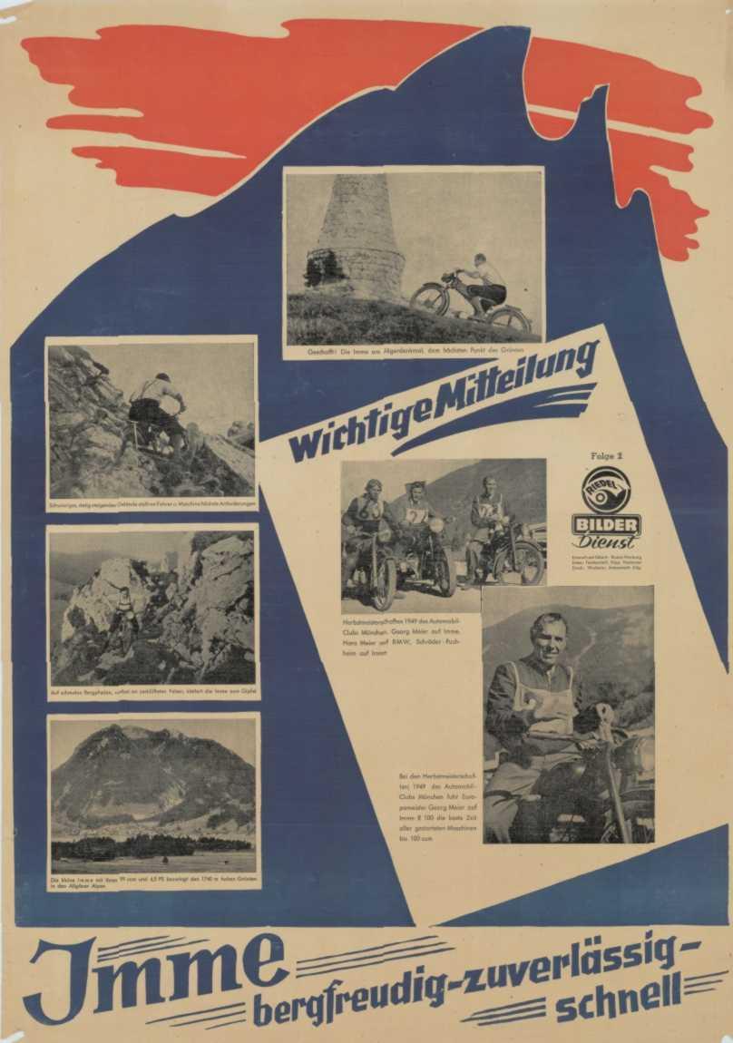 Imme R100 Motorcycle Brochure