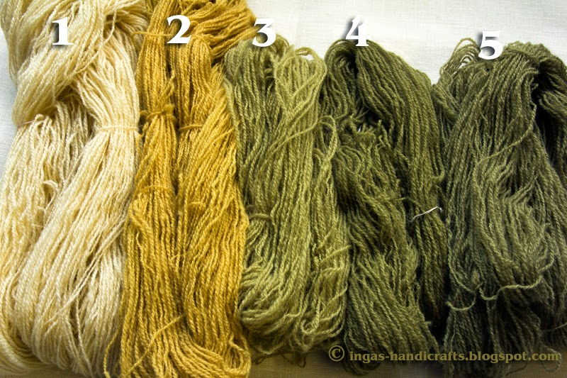 Taimedega värvitud / Natural Dyes from Plants