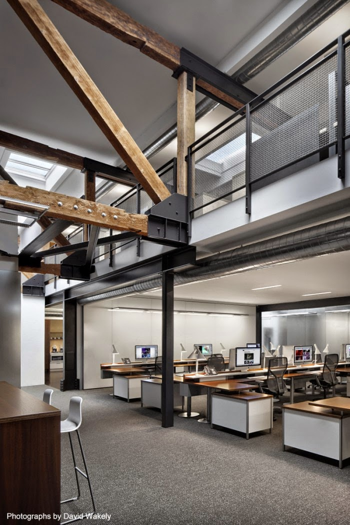 Different Architectural Styles Exterior House Designs: Tolleson's Rustic San Francisco Office Design