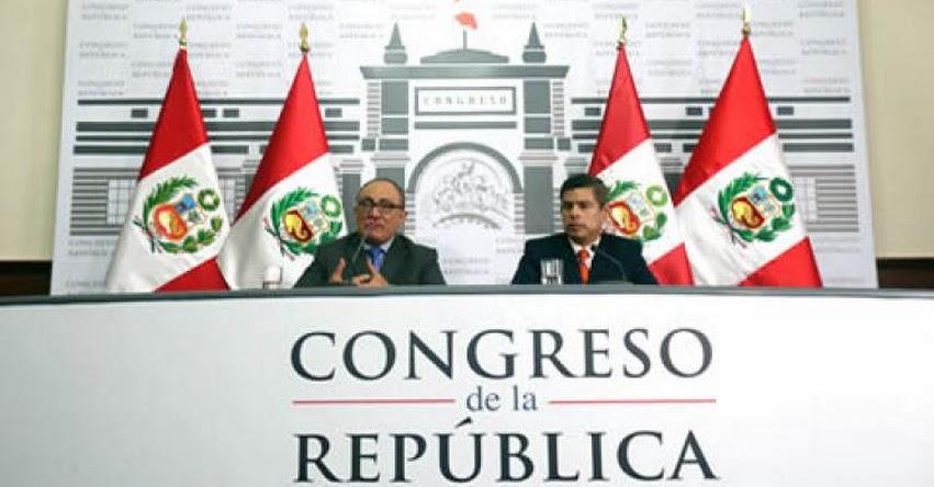 MINEDU coordinará políticas educativas con el Congreso - www.minedu.gob.pe