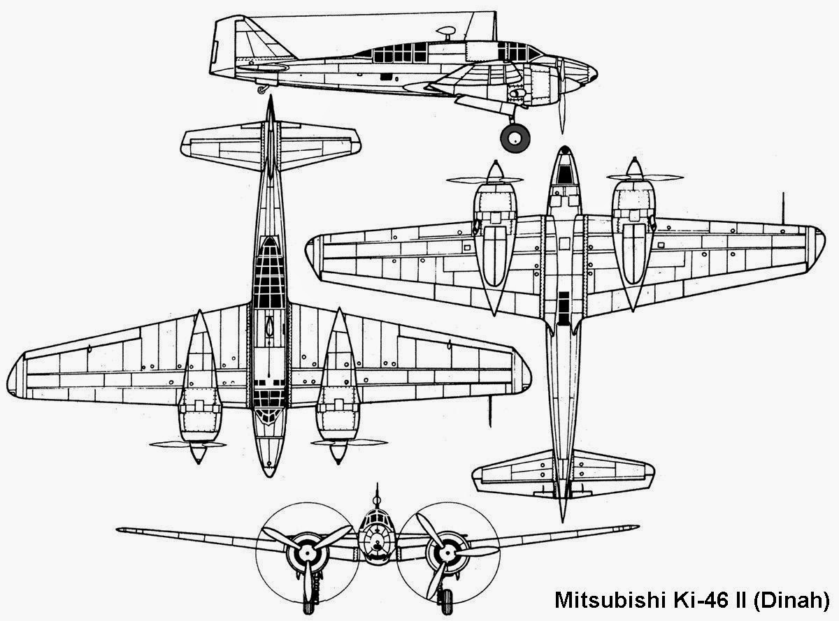Japanese Aircraft Of Wwii Mitsubishi Ki 46
