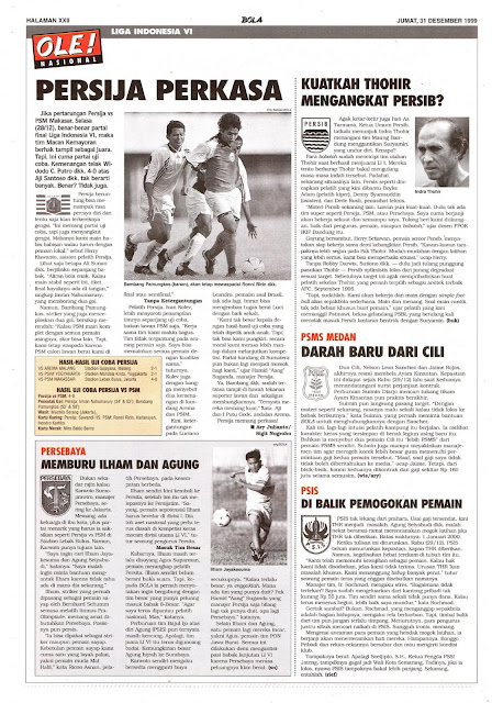 LIGA INDONESIA: PERSIJA PERKASA
