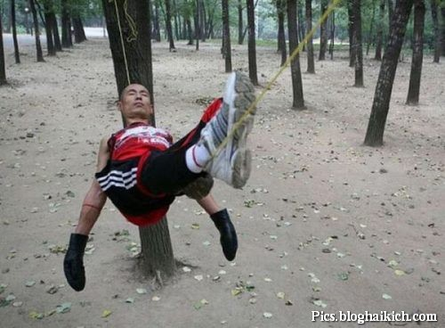 Ngủ trên sợ dây
