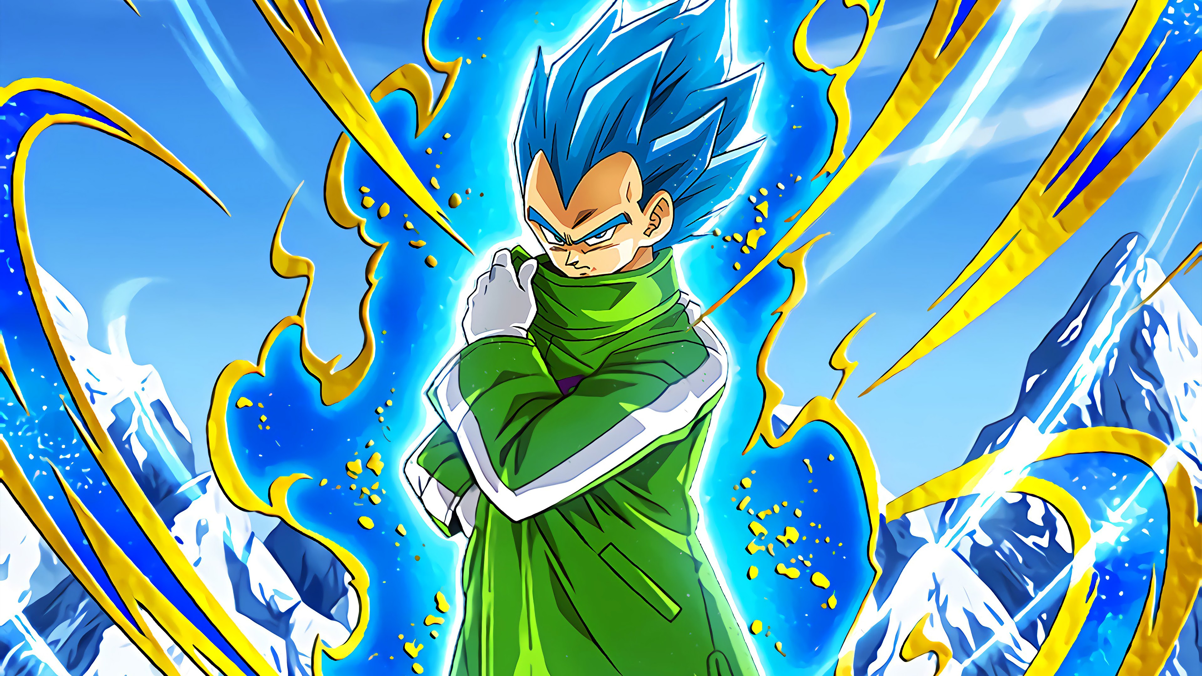 Super Saiyan Blue Vegeta Dragon Ball Super Broly 4k