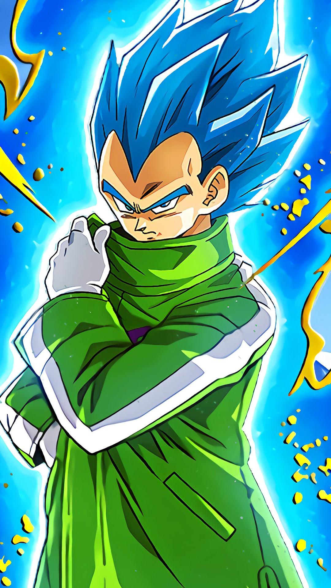 vegeta super saiyan blue dragon ball super broly 17 4k