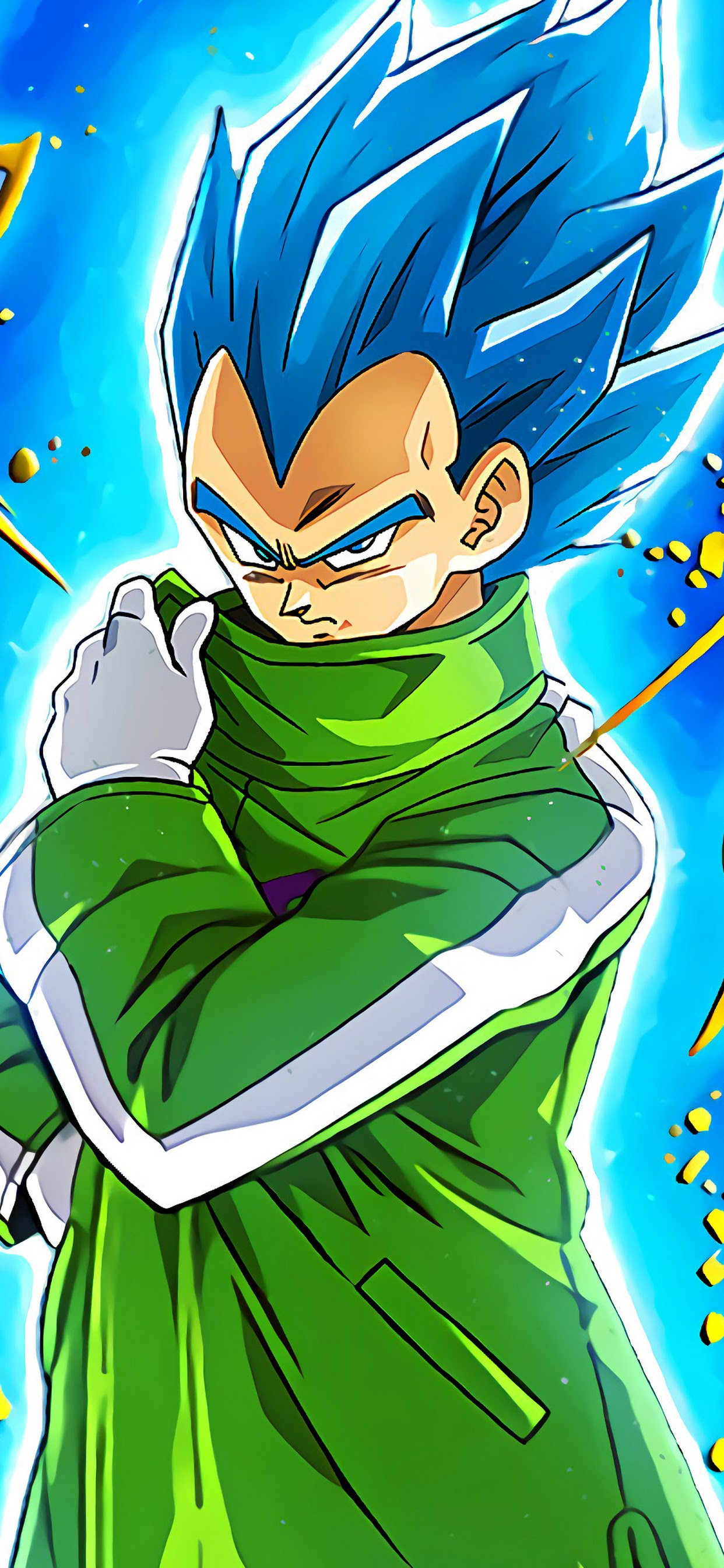 Super Saiyan Blue Vegeta Dragon Ball Super Broly 4k Wallpaper 13