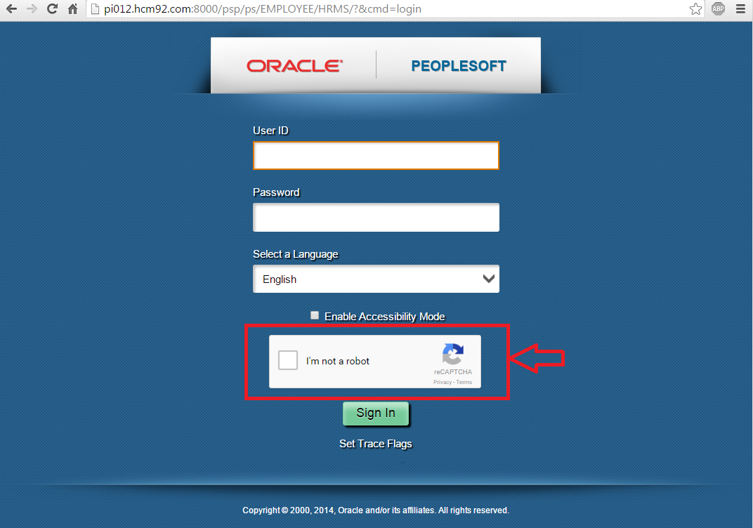 Sasank's PeopleSoft Log: Implementing no CAPTCHA reCAPTCHA in PeopleSoft