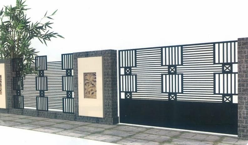 Pagar Minimalis Terbaru | Design Rumah Minimalis