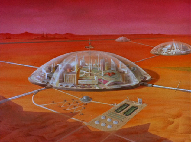 the secret mars colony project