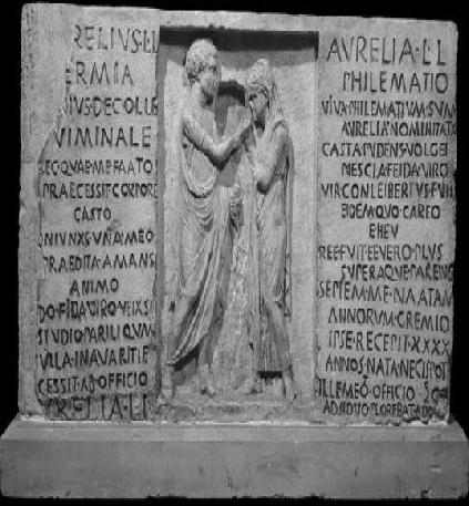 Matrimonio En El Imperio Romano : Apasionados del imperio romano: testimonio de matrimonio romano en