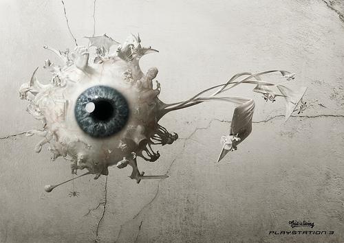 cartel con un ojo