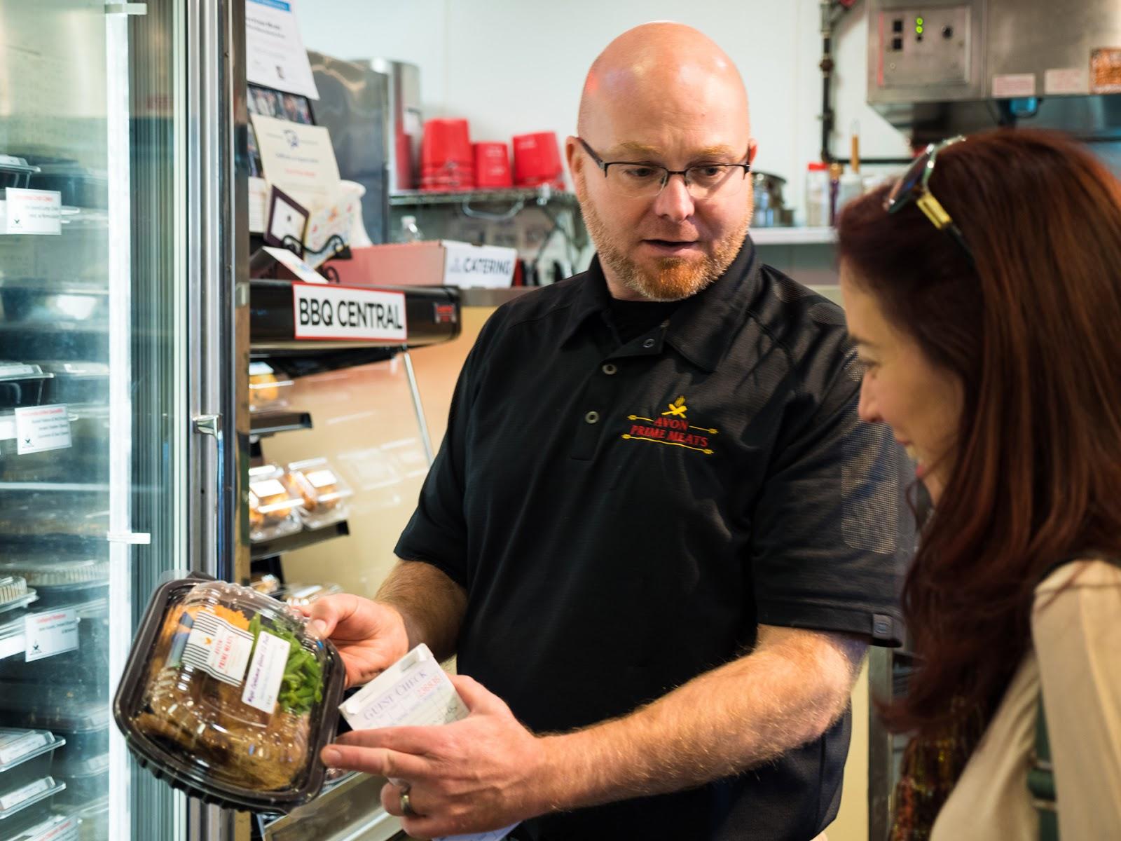 Local Food Rocks: Avon Prime Meats helpful staff
