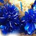 Spectacular Azurite Flowers in Vug