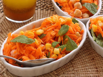 roasted cardamom powder and salt until homogeneous Moroccan Carrot & Chickpeas Salad Recipe