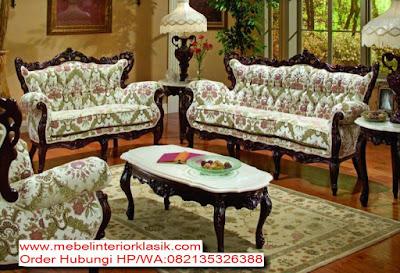 """SOFA TAMU GANESHA KLASIK JEPARA,MEBEL KLASIK JEPARA,Jual Mebel Interior Klasik Indonesia#Mebel Klasik Jepara  """"Mebel Interior KLASIK"""",Sofa tamu Ganesha Klasik #tokojati.net#.""""MEBEL KLASIK EROPA""""sofa klasik asli jepara"""