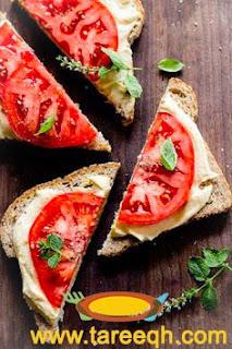 افكار للفطور بخبز التوست