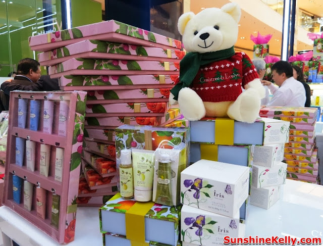 christmas gift, Crabtree & Evelyn, 2013 Christmas Gift Collection, New Store in Pavilion KL, pavilion kl, christmas 2013