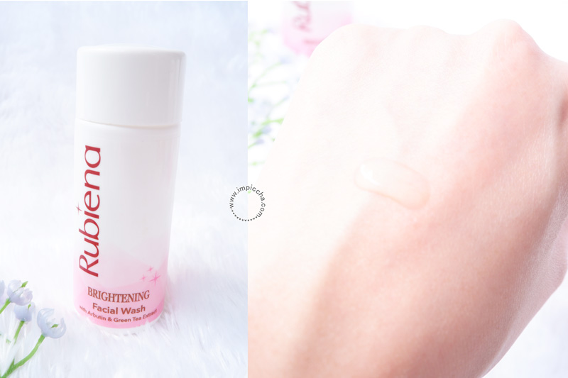Rubiena Brightening Series Skincare - Facial Wash