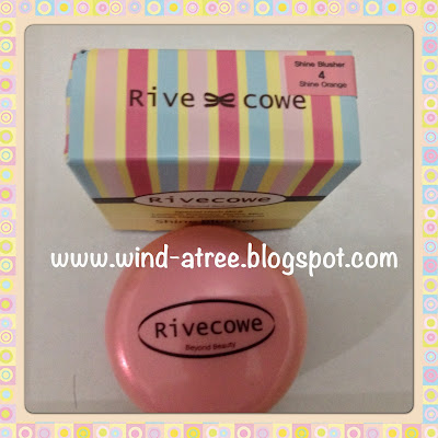[Review] Rivecowe - Shine Blusher no 4 (Shine Orange)