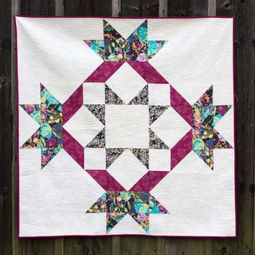 How to Supersize Quilt Blocks - Tutorial