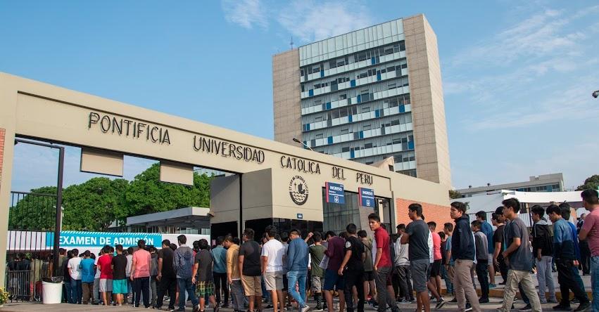 Resultados PUCP 2020 (Domingo 16 Febrero) Evaluación del Talento - Zona Escolar - Examen de Admisión - Pontificia Universidad Católica del Perú - www.pucp.edu.pe