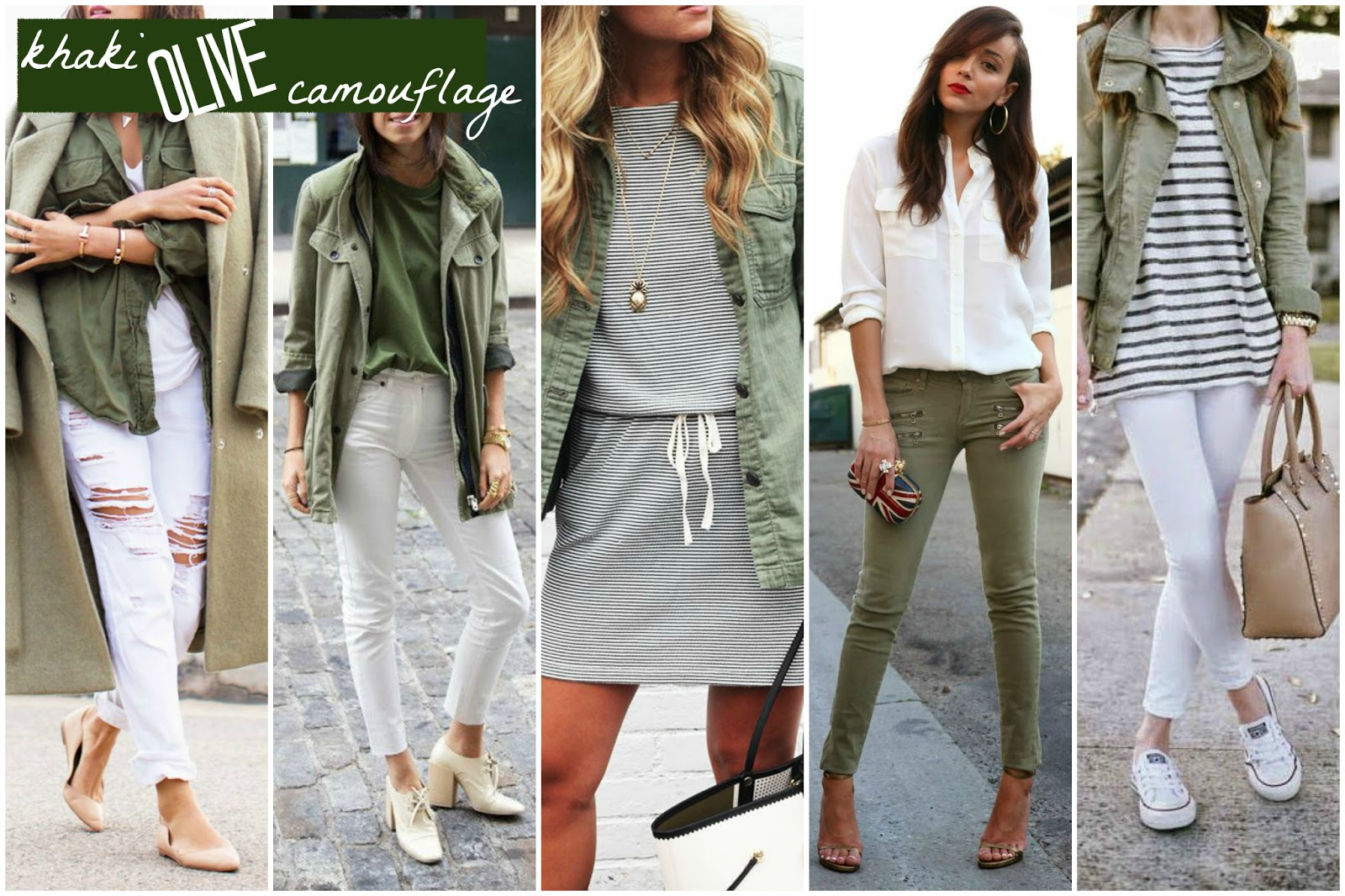 TheBlondeLion Inspiration Trend Outfit Spring Summer khaki olive camouflage