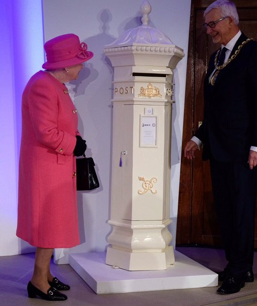 The Royal Institution of Chartered Surveyors is a professional body specialising in land qualified. Queen Elizabeth style, pink coat