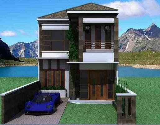 Desain Rumah Minimalis Sederhana 2 Lantai