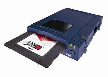 Zip Drive,  Sistema de Disco Removível de Média Capacidade