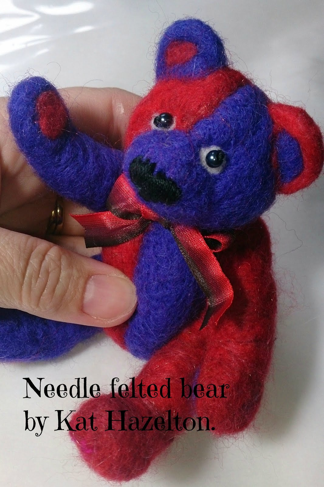 One of my needle felted bears