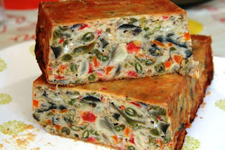 receta de pastel de verdura vegano