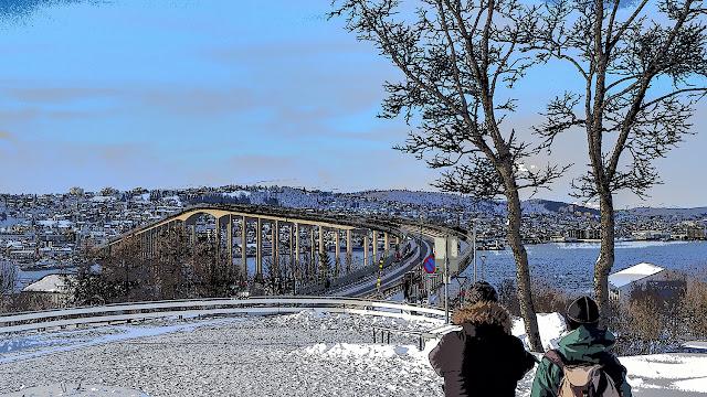 Vista de Tromsø desde Tromsdalen - Noruega, por El Guisante Verde Project