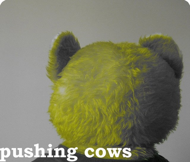 Pushing Cows