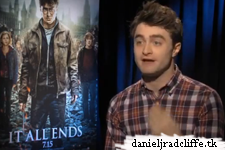 Harry Potter and the Deathly Hallows part 2 press junket interviews