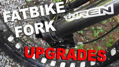 Wren fatbike fork axle